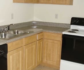 Kitchen, Legacy Mills Townhomes/Duplexes