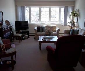 Living Room, Clifton Estates Apartments