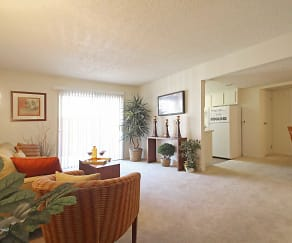 Living Room, Lantana Apartment Homes