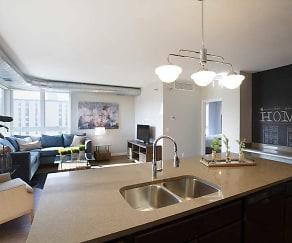 Kitchen, The Woodrow Apartments