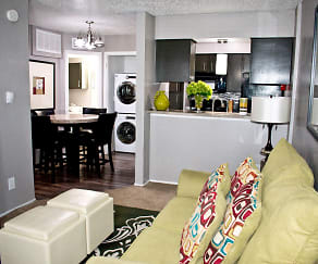 Living Room, Sedona Ridge Apartments Homes