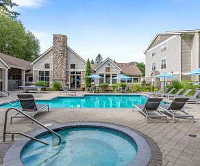 Pool, WildReed Apartments