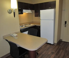 Kitchen, Furnished Studio - Houston - Stafford