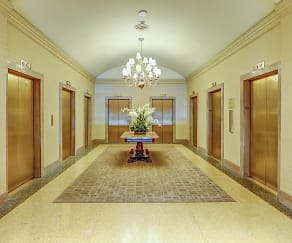 Foyer, Entryway, The Franklin Residences