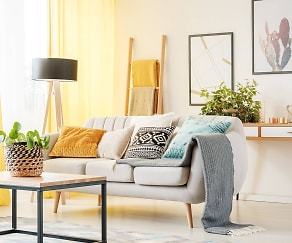 Living Room, Residences at Hardy Yards