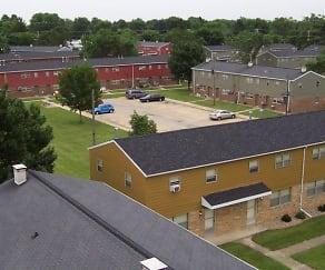 Building, Falcon Way Apartments
