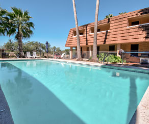 Pool, Arroyo Apartments