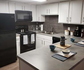 Kitchen, Peppertree Lane Apartments