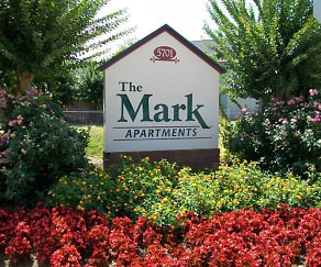 Community Signage, The Mark Apartments