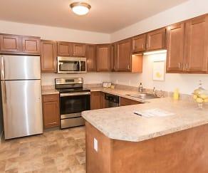Kitchen, Lafayette Square Senior Apartments