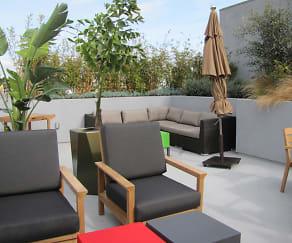 The Mayfair Residences at Santa Monica Beach, Animo Venice Charter High School, Venice, CA