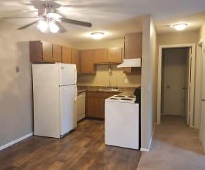 Kitchen, McCarrons Village Apartments