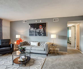 Living Room, Nori Apartments
