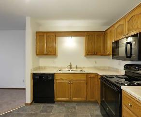 Kitchen, Rainbow Plaza Apartments