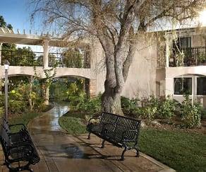 Courtyard, Drake Manor