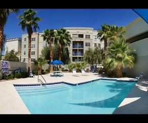 Pool, City Center Apartments