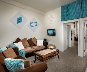 Living Room, Coliseum Lofts