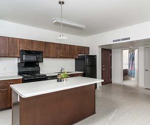 Kitchen, The Randolph Apartments