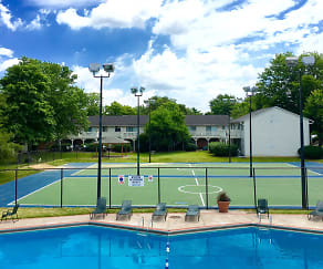 Pool, Central Square Apartments