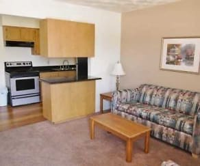 Living Room, Oakwood Crest Furnished Apartments
