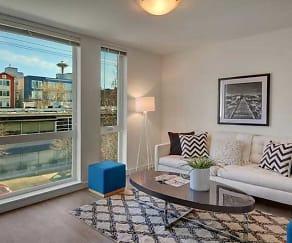 Living Room, Queen Anne Flats