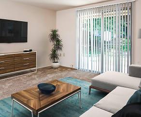 Living Room, Pleasantview Apartments