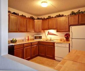 Kitchen, Park Plaza Apartments