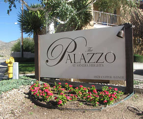 Community Signage, The Palazzo At Sandia Heights