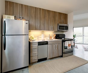 Kitchen, The Loop Isla Vista - PER BED LEASE