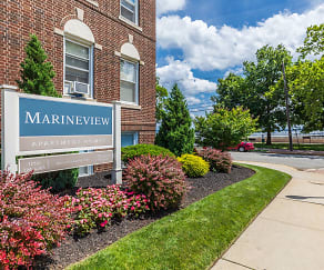 Community Signage, Marineview Apartments