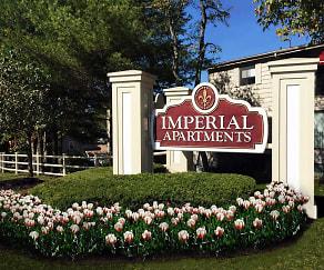 Community Signage, Imperial Village Apartments