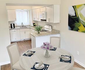 Kitchen, Weatherstone Luxury Townhomes North & South