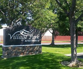 Community Signage, Village Park