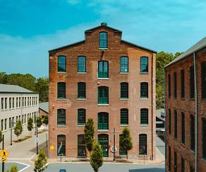 Building, Simon Silk Mill