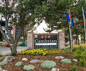 Community Signage, Cambrian Apartments