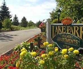Community Signage, Lake Park Village
