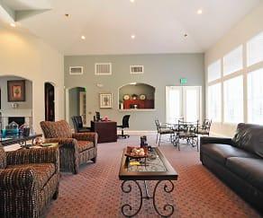 Living Room, Cedar Park Townhomes