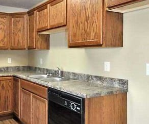 Kitchen, Mirada Manor Apartments