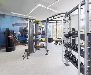 Fitness Weight Room, Park Square