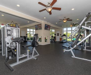 Fitness Weight Room, The Park at Rialto