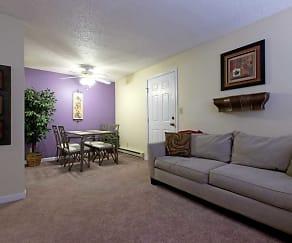 Living Room, Triple Crown Apartments