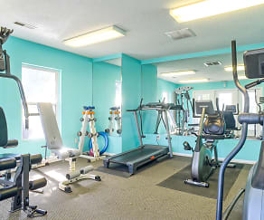 Fitness Weight Room, Sand Ridge Apartments