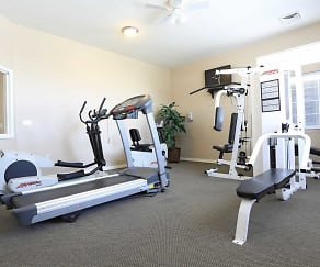 Fitness Weight Room, The Ridge At Jordan Landing