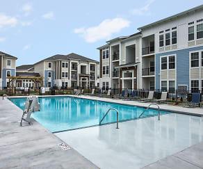 Pool, Waterside Apartments