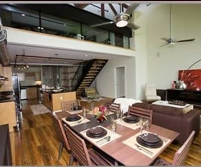 loft style, Montgomery Square Apartments