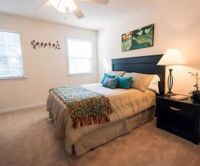 Bedroom, Sandpiper Townhomes