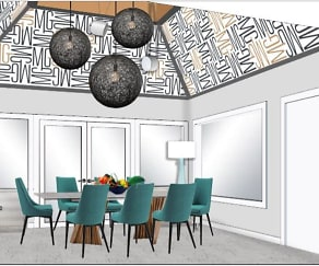Dining Room, Moon Grove Apartments