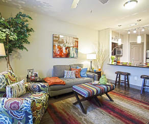 Living Room, The Edge At Midtown