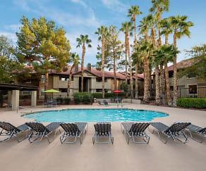 Pool, 3001 Park Apartments