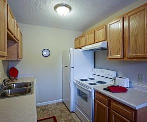 Kitchen, Oak Valley Apartments
